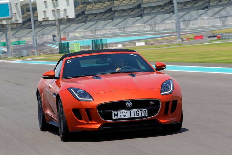 Jaguar exotic supercar driving experience