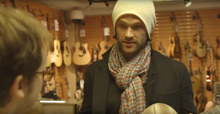Jared Padalecki stars in one of Chevrolet's #DayItForward videos for Leap Day