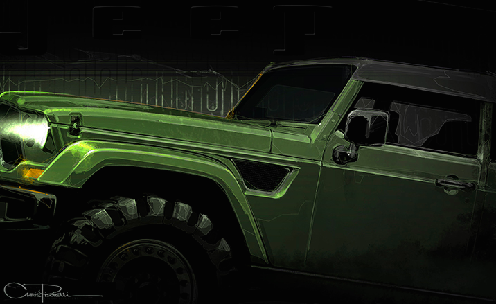 Jeep Crew Chief Concept Car