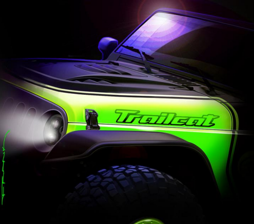 Jeep Wrangler Trailcat Concept Car