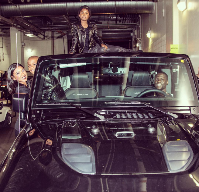 Ford Mustang Fastback >> Kevin Hart's Custom Jeep Wrangler is the Car of your ...