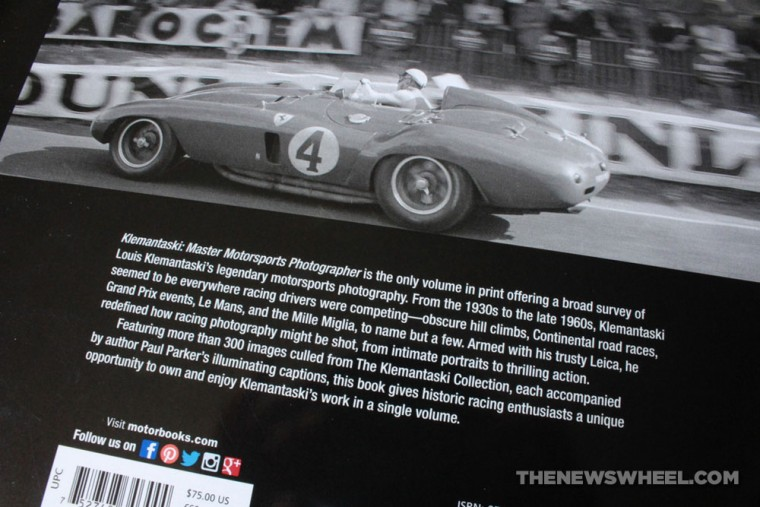 Klemantaski Master Motorsports Photographer book review Motorbooks jacket