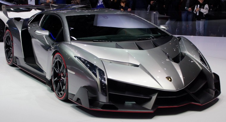 lamborghini veneno. a japanese car dealer has posted an ad online for rare lamborghini veneno that costs