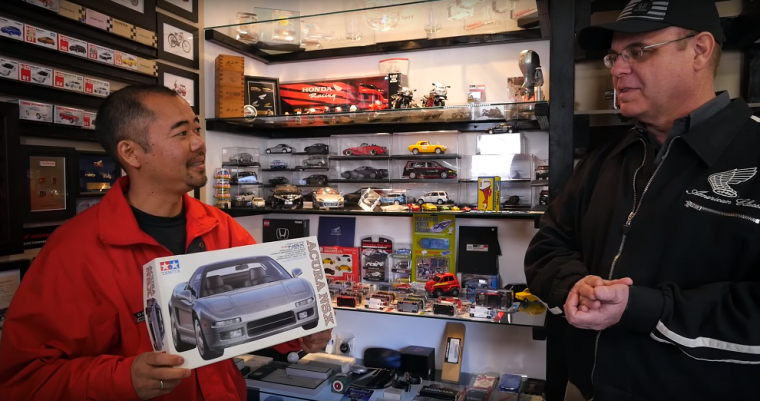 Honda assosciate Lance shows off his Acura NSX model, along with the rest of his collection, in Honda Kokoro Video #1