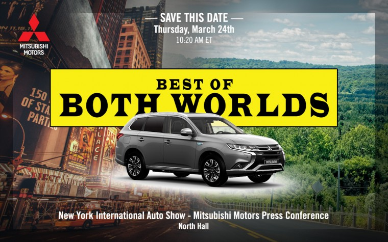 Save the Date for the Mitsubishi Motors Press Conference at the