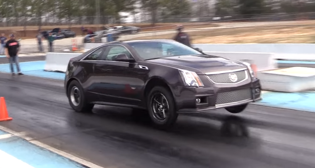 Video Modified Cadillac Cts V Coupe Completes 9 Second