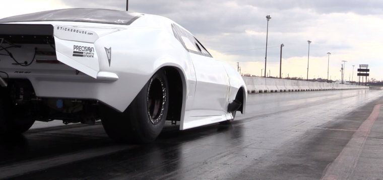 'Street Outlaws' cast member Big Chief has recovered from his crash last November and recently tested his new racecar at the drag strip
