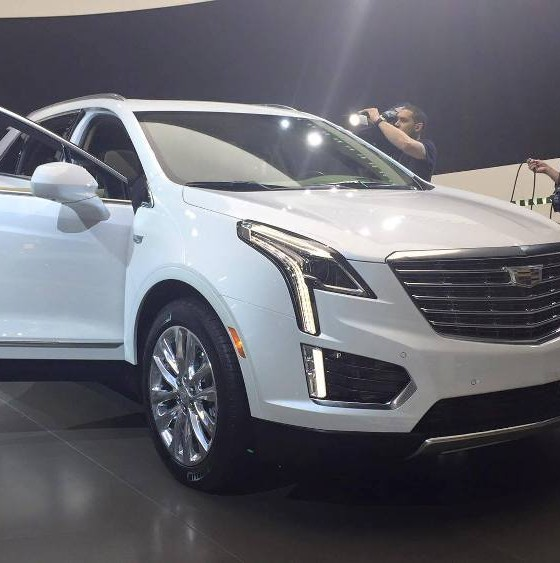 cadillac brings xt5 crossover to new york auto show the news wheel. Black Bedroom Furniture Sets. Home Design Ideas