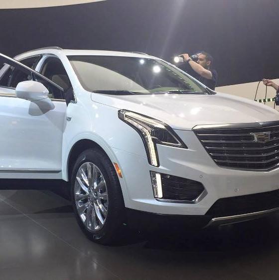 [PHOTOS] Cadillac Brings XT5 Crossover To New York Auto