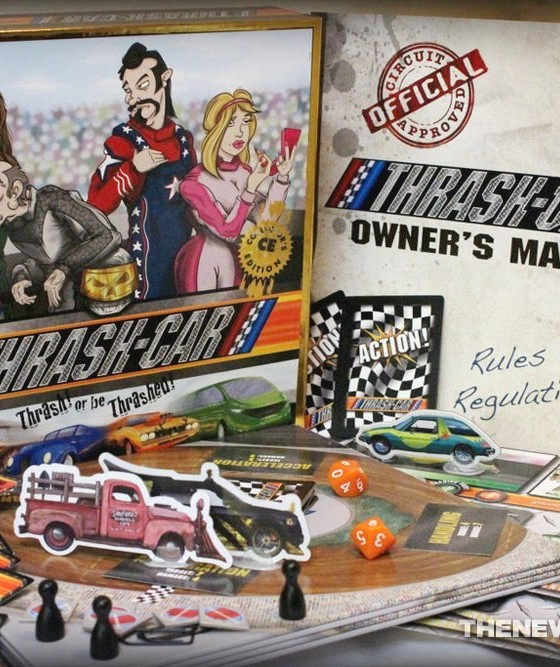 How To Flare A Brake Line >> 'Thrash-Car' Board Game Review: A Riotous, Reckless Racing ...