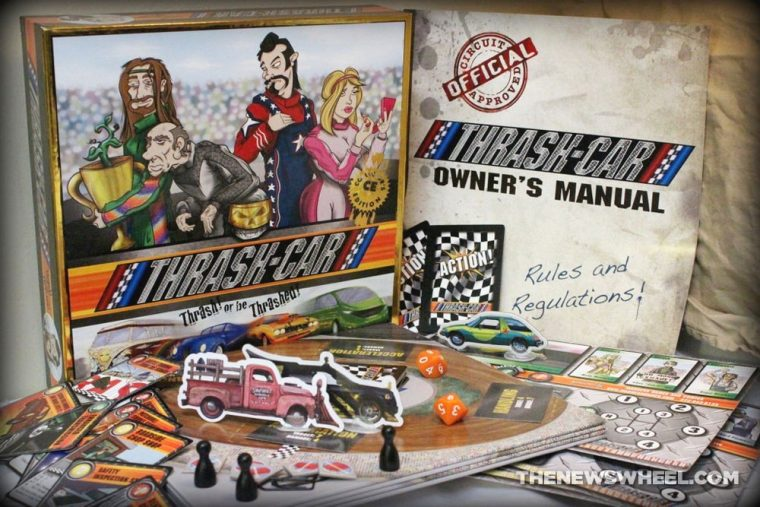 Thrash Car Racing Board Game Review Solar Flare Brave Frontier Studios