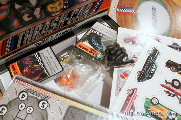 Thrash Car Racing Board Game Review Solar Flare packaging