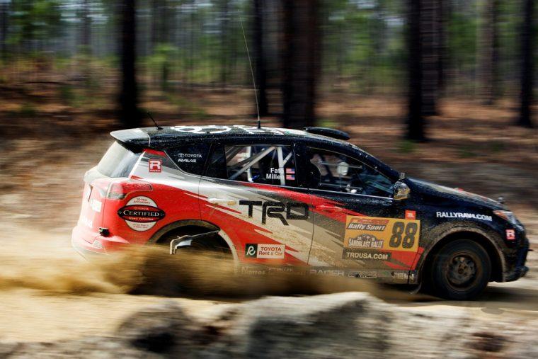 Toyota Rally RAV4 Sandblast win