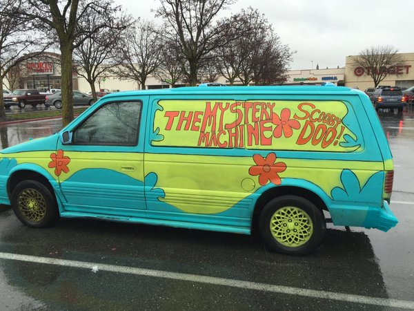 Turman's Mystery Machine
