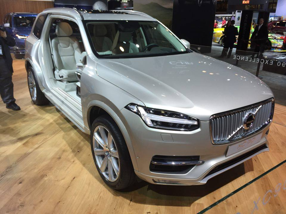New Volvo XC90 Excellence Debuts in New York with Price Tag of More Than $100,000 - The News Wheel