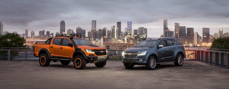 Chevy Colorado Xtreme and Trailblazer Premier