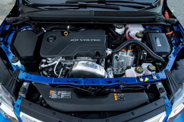 Chevrolet Volt Voltec gas engine