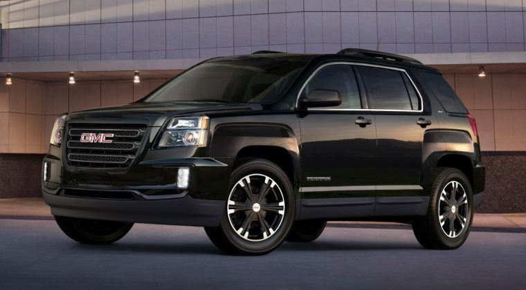 2017 GMC Terrain Nightfall Edition