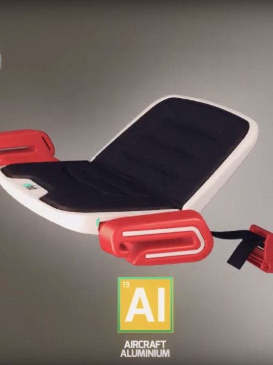 Innovative Mifold Portable Booster Seat Is Currently
