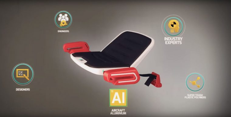 mifold grab-and-go child booster seat video