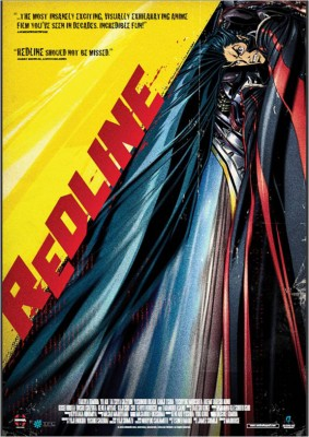 redline movie poster box cover
