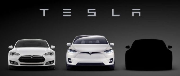 tesla lineup model 3 reveal
