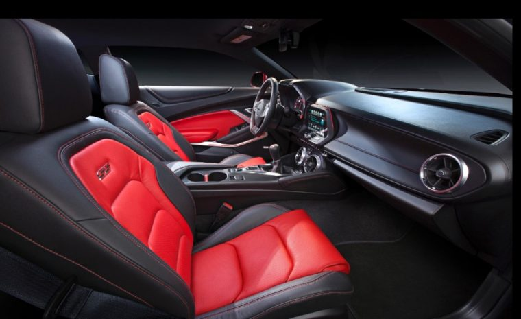 The redesigned cabin of the Camaro SS was named one of Wards 10 Best Interiors
