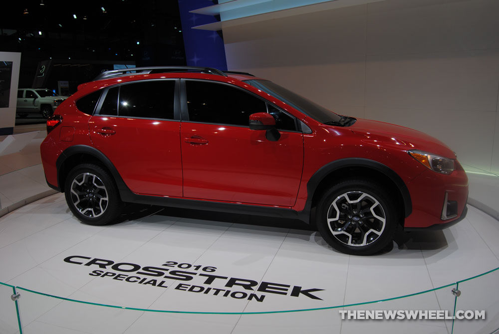 2016 subaru crosstrek pure red special edition priced at. Black Bedroom Furniture Sets. Home Design Ideas