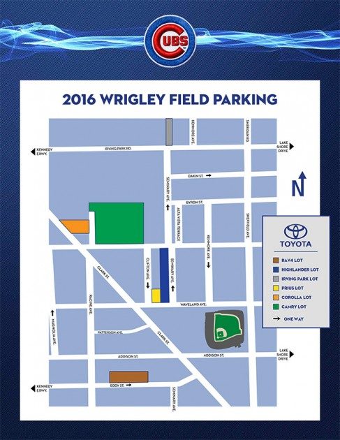 2016 Wrigley Field Parking