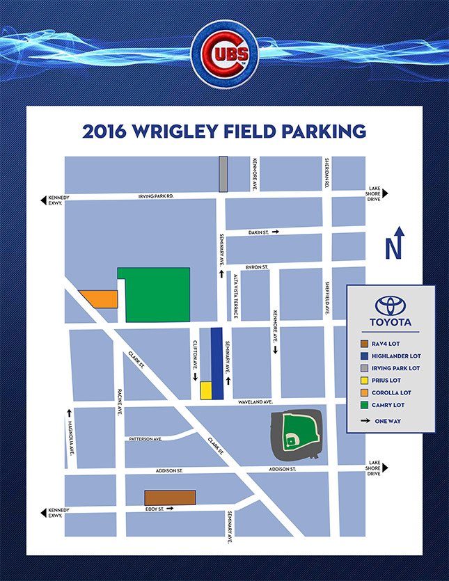 Park Your Camry in the Cubs Camry Lot This Baseball Season | The News ...
