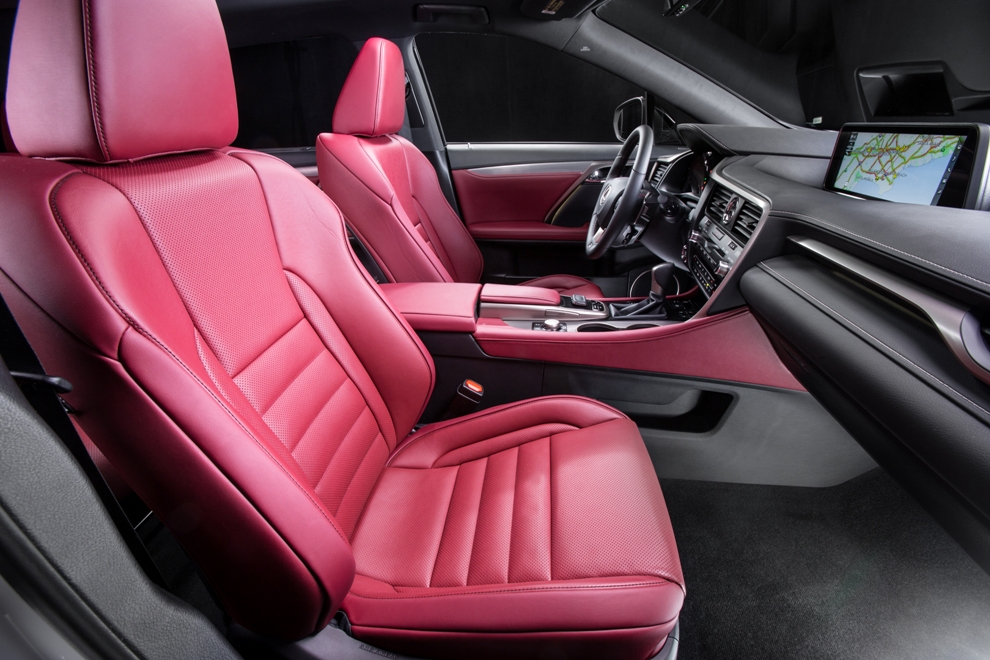 lexus rx interior awarded by wards the news wheel. Black Bedroom Furniture Sets. Home Design Ideas