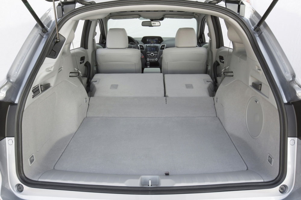 2017 acura rdx cargo space the news wheel. Black Bedroom Furniture Sets. Home Design Ideas