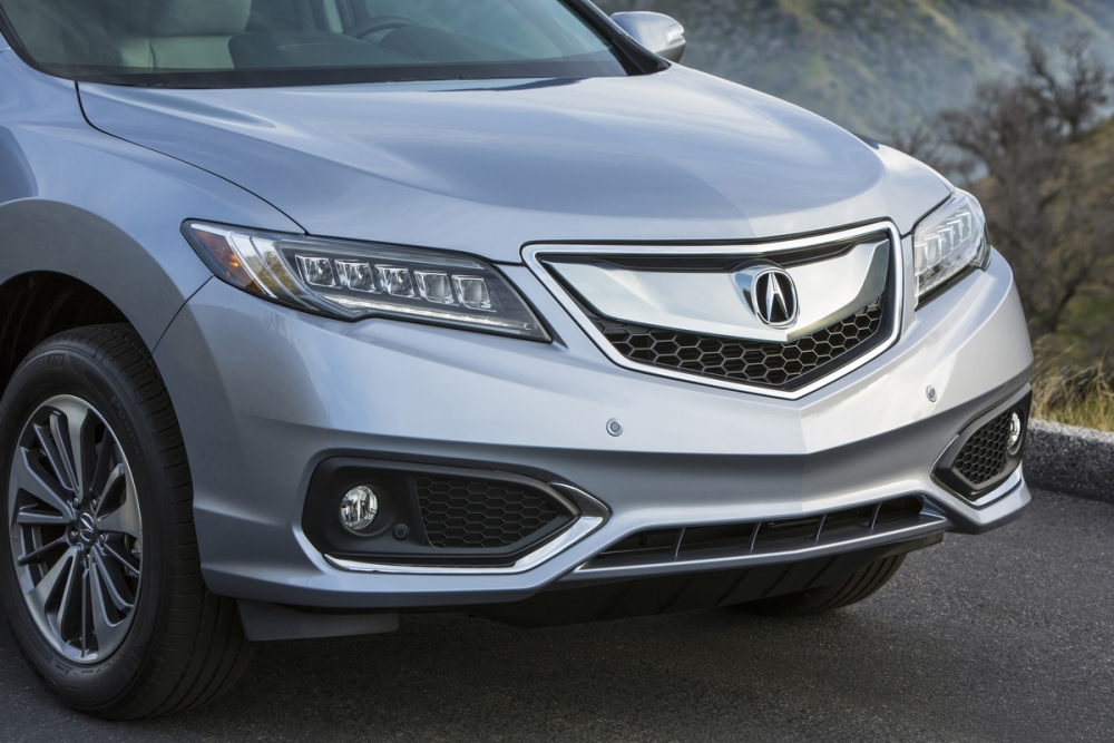2017 acura rdx front grille the news wheel. Black Bedroom Furniture Sets. Home Design Ideas