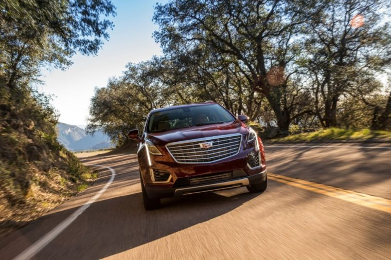 Sales were up 1% for Cadillac in March and the SRX crossover was the brand's best selling vehicle