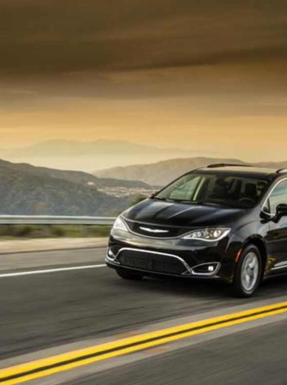 2017 Chrysler Pacifica Minivans On Their Way To Midwest
