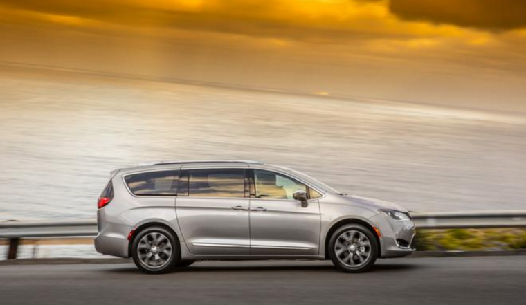 2017 Chrysler Pacifica Silhouette