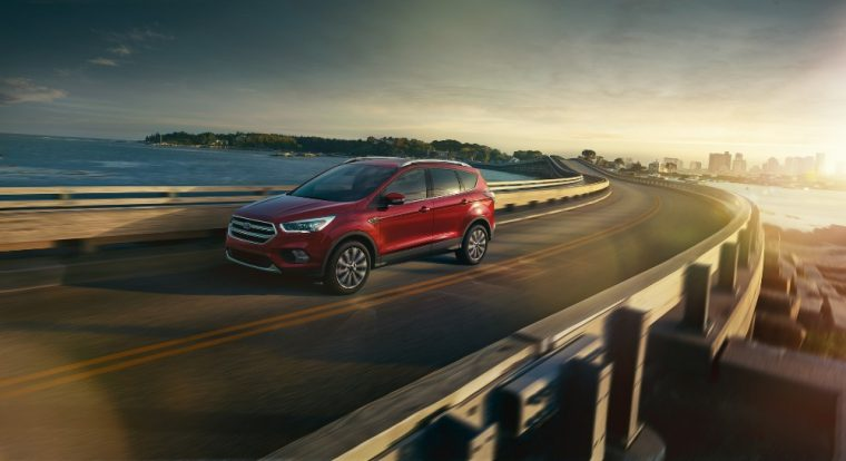 The Ford Escape crossover comes with new safety and entertainment technology for the 2017 model year, while still maintaining a starting MSRP of $23,600