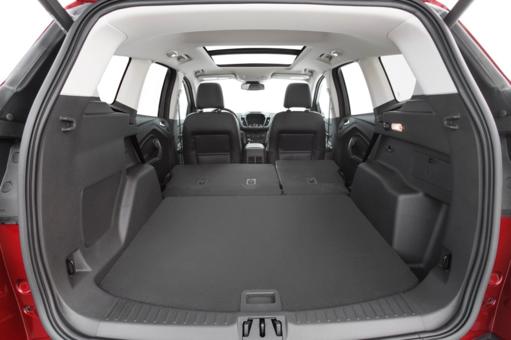 2017 ford escape cargo space the news wheel. Black Bedroom Furniture Sets. Home Design Ideas