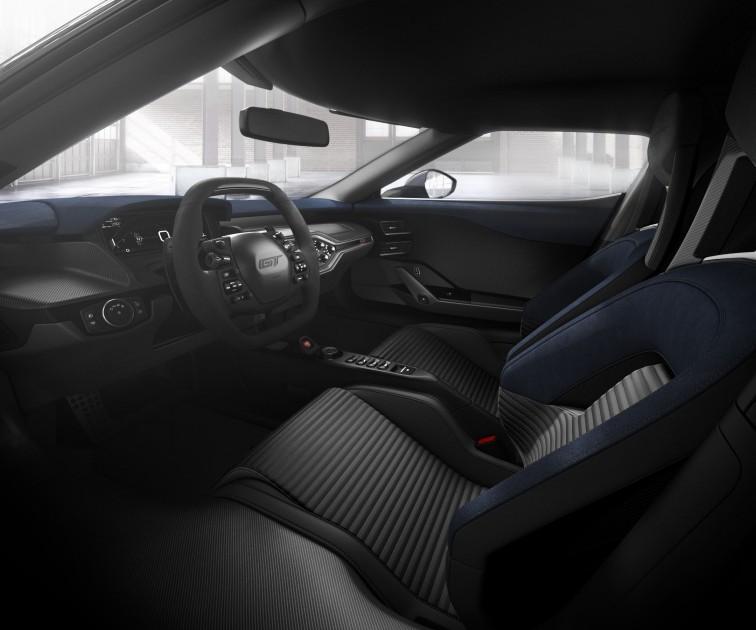 2017 Ford GT Light Speed Interior