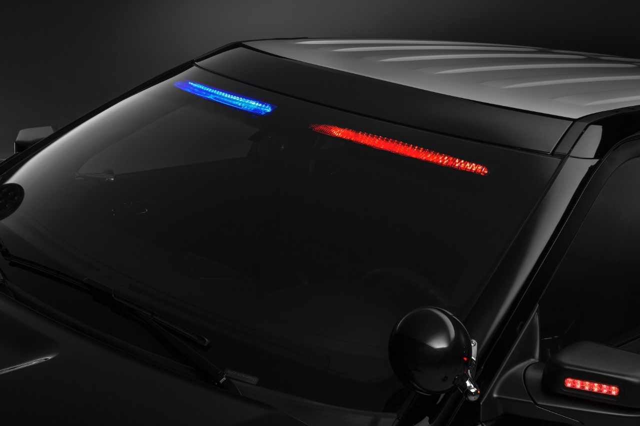 Ford Offers Quot No Profile Quot Interior Visor Light Bar For 2017