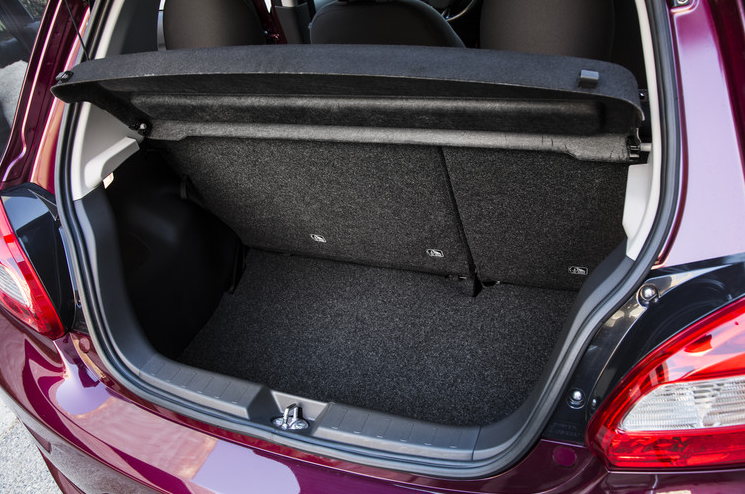 2017 Mitsubishi Mirage Trunk Space The News Wheel