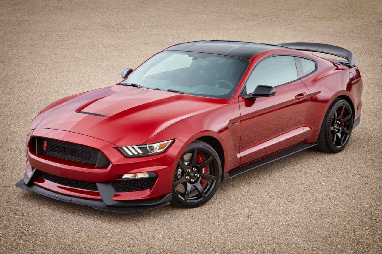 2017 Shelby GT350 Ruby Red Metallic (2) | The News Wheel