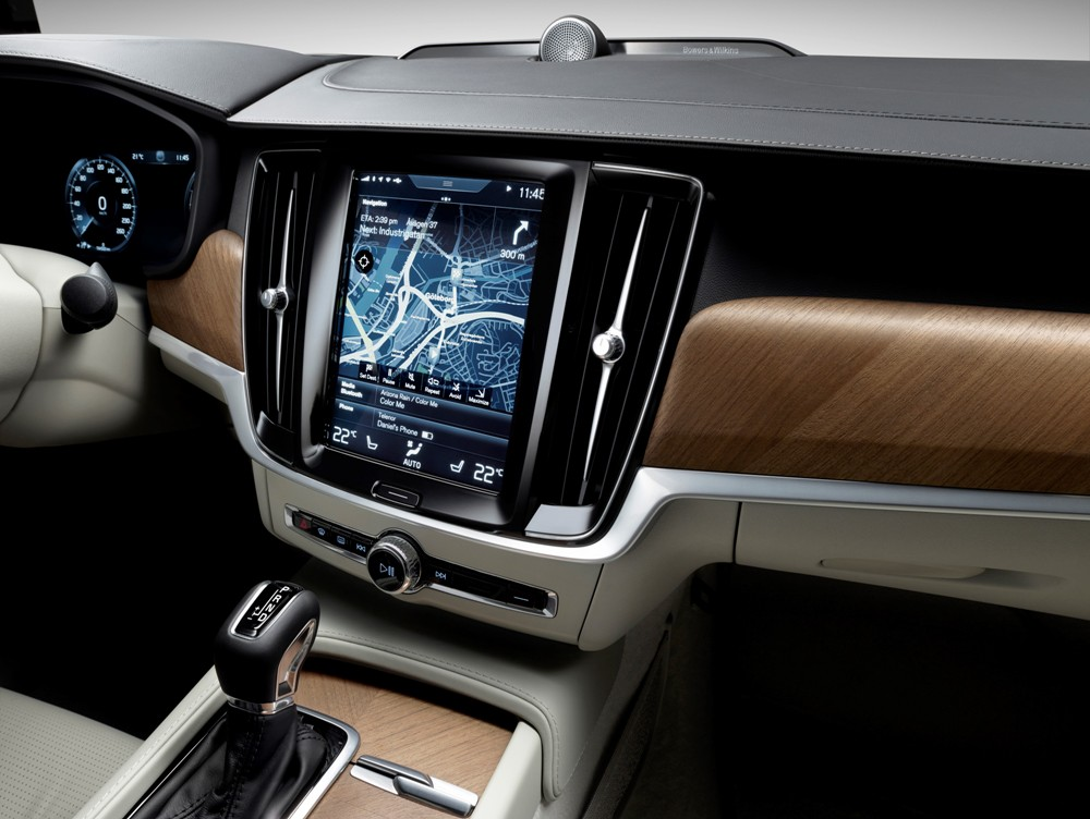 2017 Volvo S90 Navigation The News Wheel