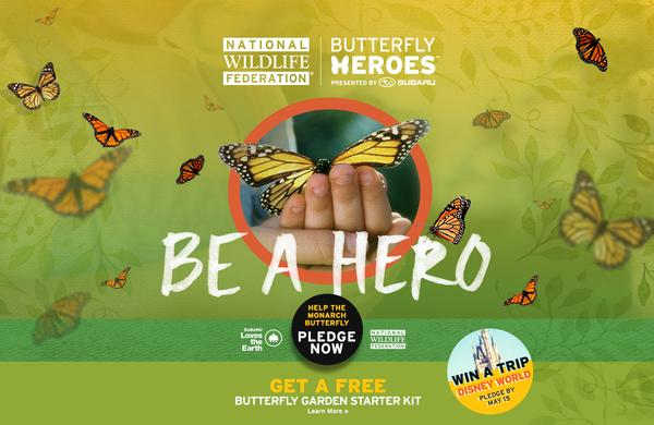 National Wildlife Federation Butterfly Heroes Subaru