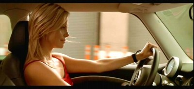 Charlize Theron in The Italian Job movie 2003