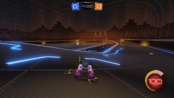 Rocket League's Cosmic Arena