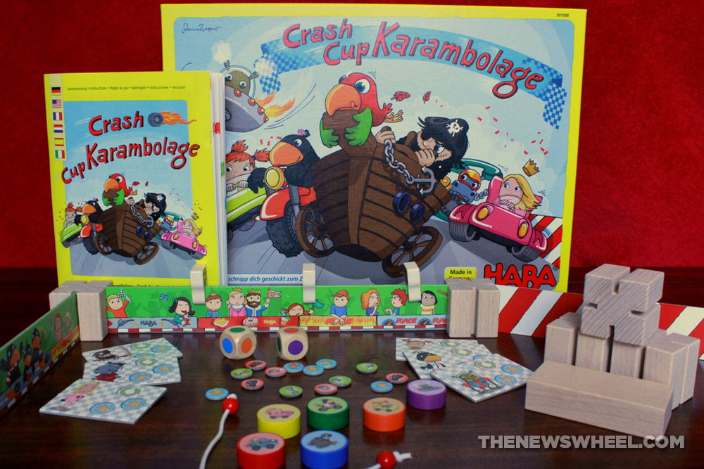 Crash Cup Karambolage Children S Racing Game Review