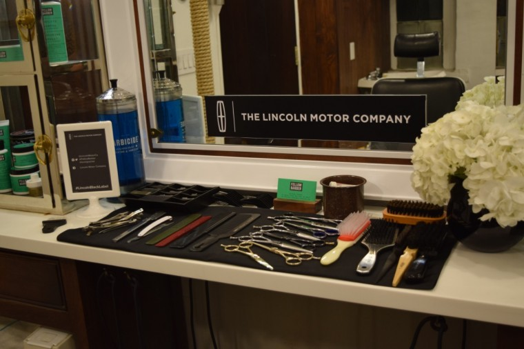 Lincoln teaming with Fellow Barber