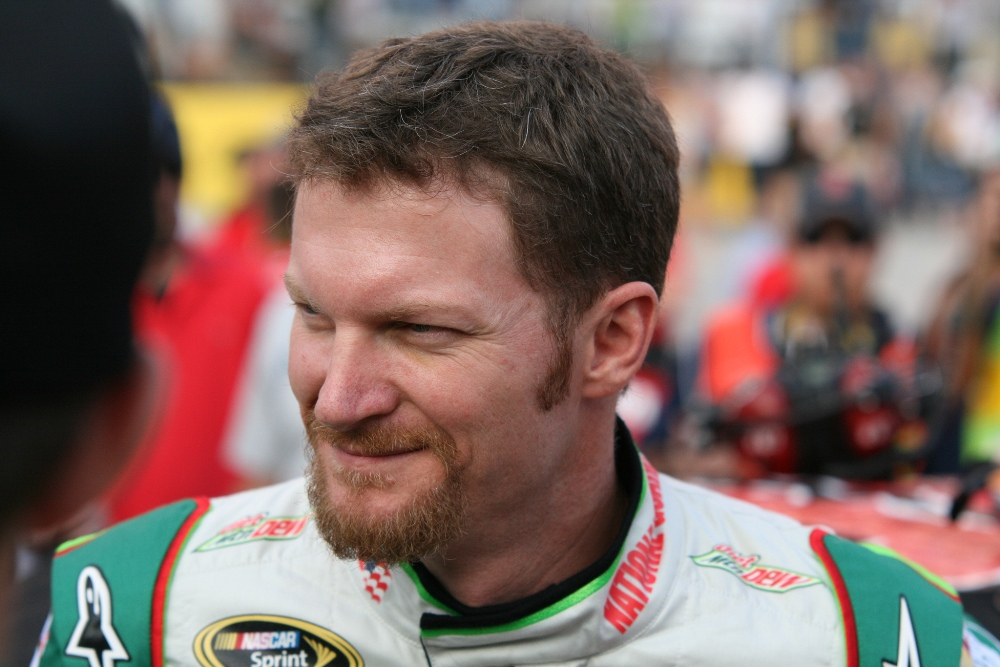 Dale Earnhardt Jr Finishes Second At Texas Motor Speedway