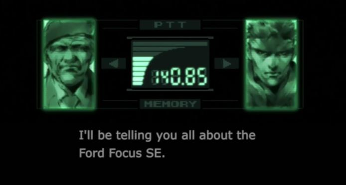 David Hayter reprises role as Solid Snake Ford Commercial